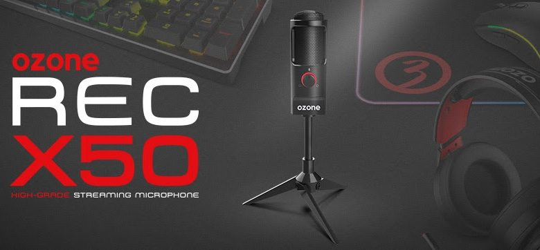 Photo of REC X50: El micrófono de Ozone para grabar como un profesional
