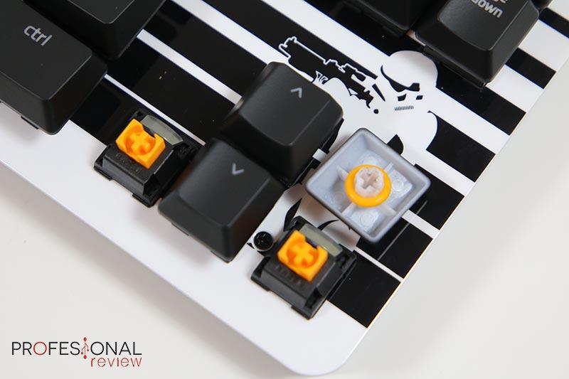 Razer BlackWidow Lite StormTrooper interruptores