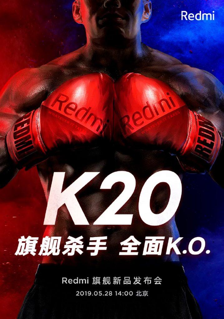 Redmi K20 presentacion