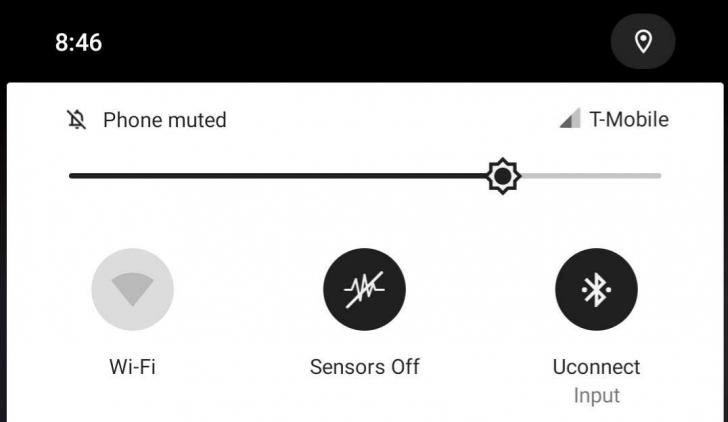 Desactivar sensores Android Q