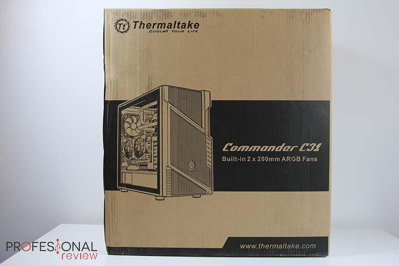 Thermaltake Commander C31 TG Review