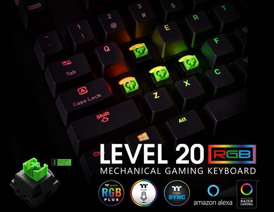Thermaltake LEVEL 20 RGB Gaming Keyboard