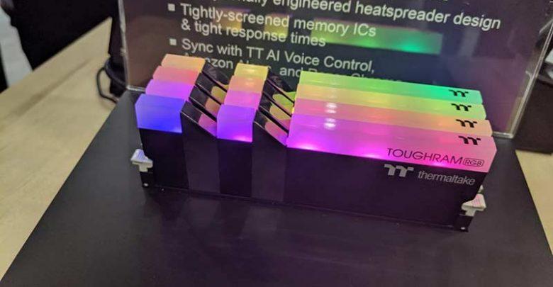 Photo of Thermaltake ha presentado en Computex 2019 la memoria TOUGHRAM RGB