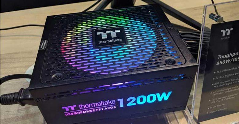 Photo of Thermaltake ha presentado en Computex 2019 la PSU Toughpower PF1