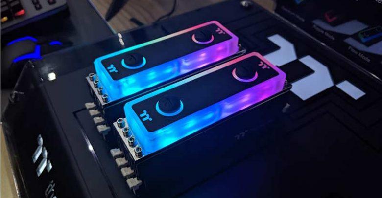 Photo of Thermaltake ha presentado el kit de refrigeración líquida para RAM WaterRam RGB