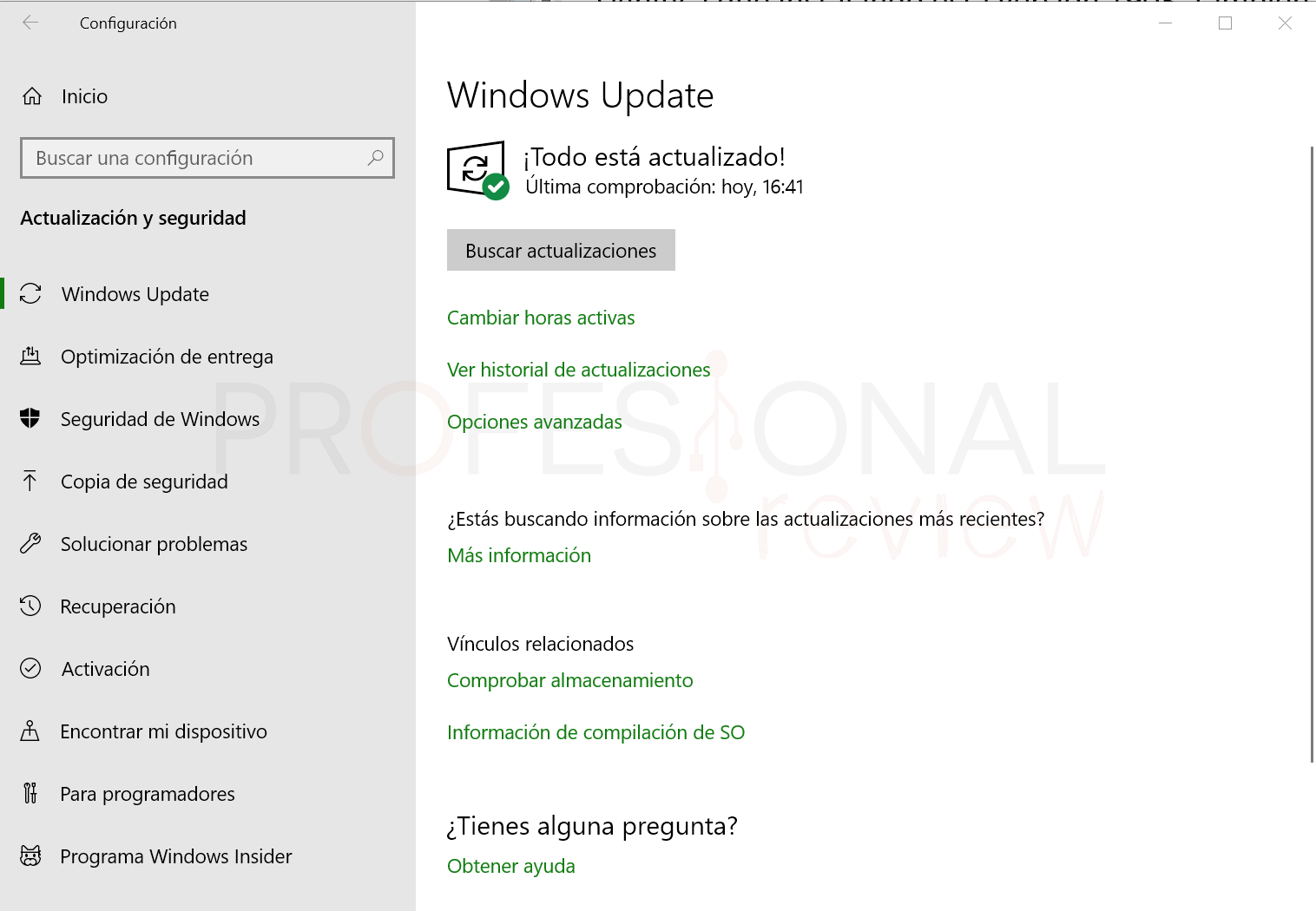 Windows 10 May 2019 Update paso01