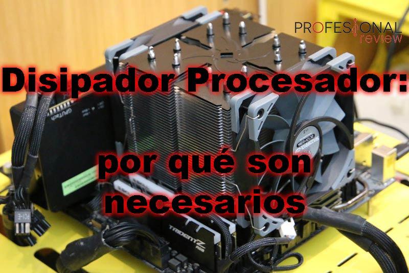 Disipador procesador