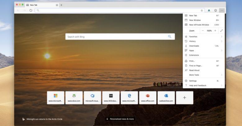 Photo of Microsoft lanza la primera previa de Edge para Mac