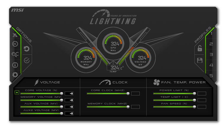MSI Afterburner Lightning