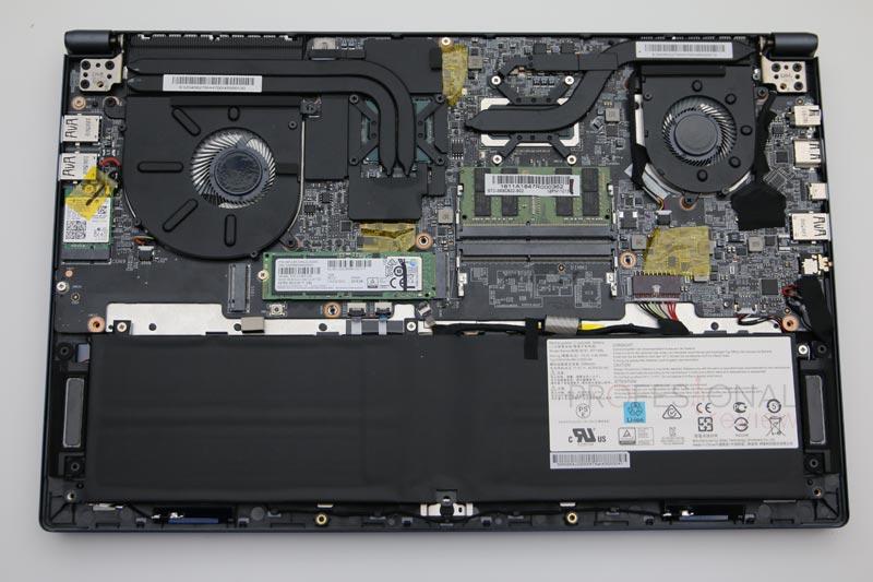 MSI PS63 Modern 8RC hardware