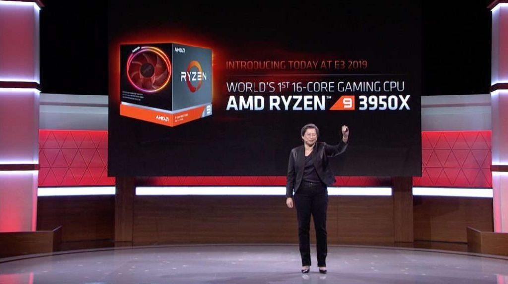 Anuncio del AMD Ryzen 3950X
