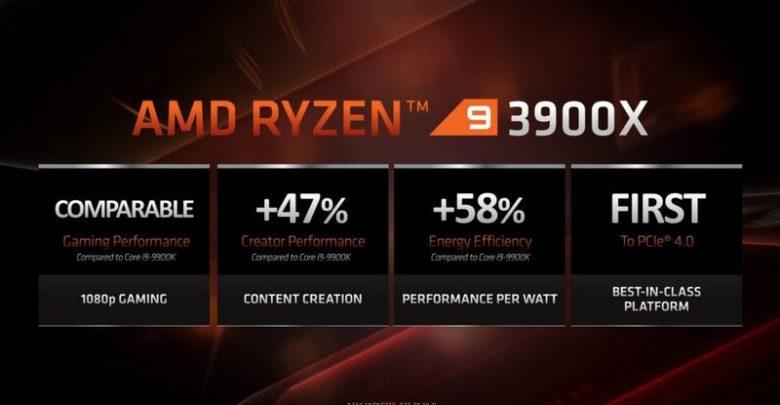 Photo of AMD Ryzen 9 3900X demuestra su poderío en un nuevo benchmark