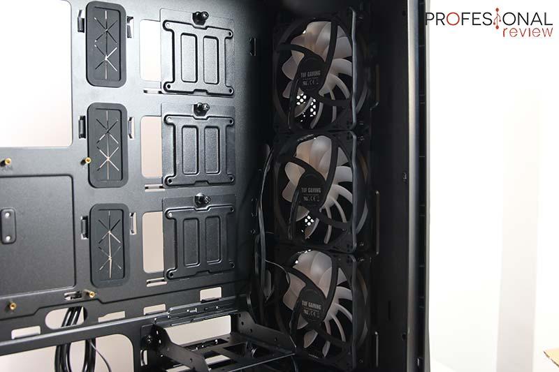 Asus TUF Gaming GT501 ventiladores