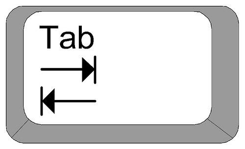 botón Tabulador