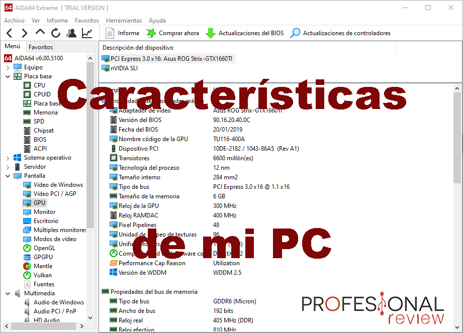 Características de mi PC