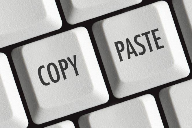 Atajos para copiar y pegar