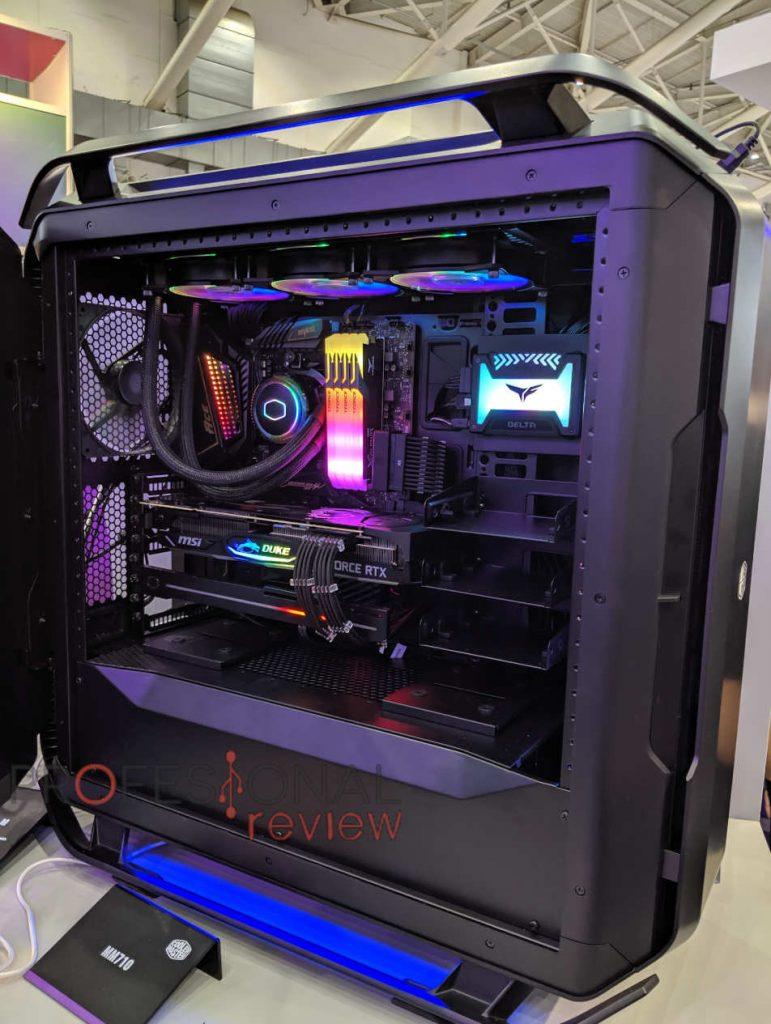 COSMOS C700P Black Edition abierta
