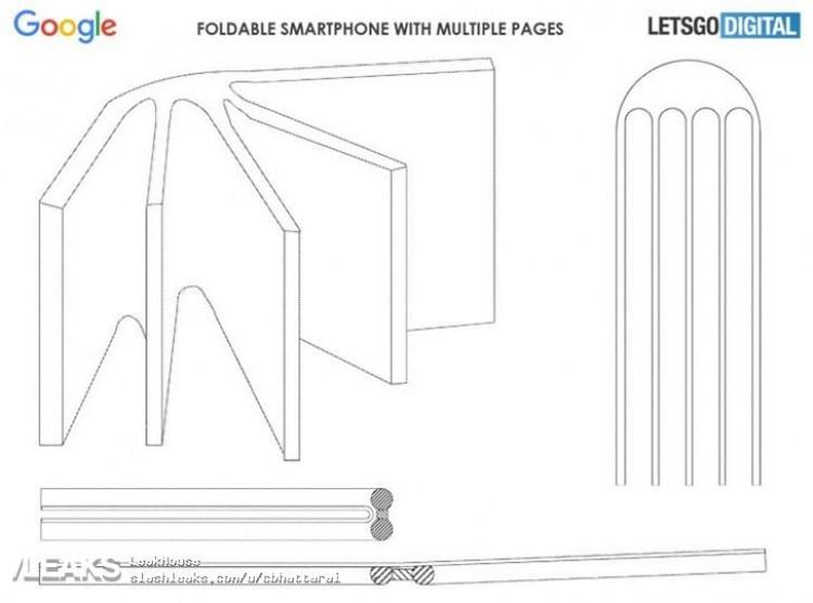 Google patente plegable