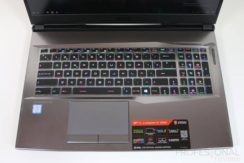 MSI GP75 Leopard 9SD teclado