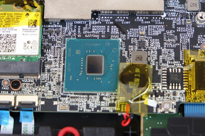 MSI GP75 Leopard 9SD hardware