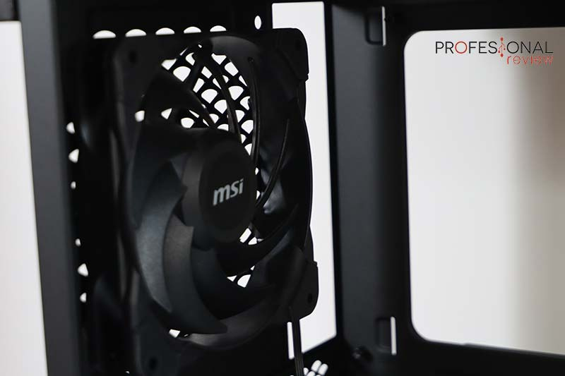 MSI MPG SEKIRA 500G ventilación