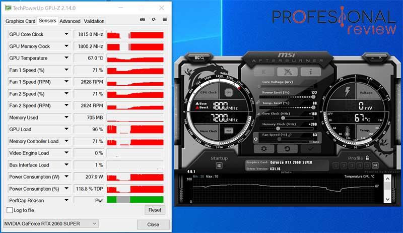 Nvidia RTX 2060 Super overcloking
