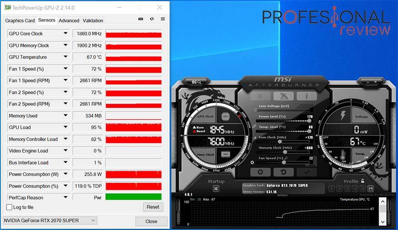 Nvidia RTX 2070 Super overclocking