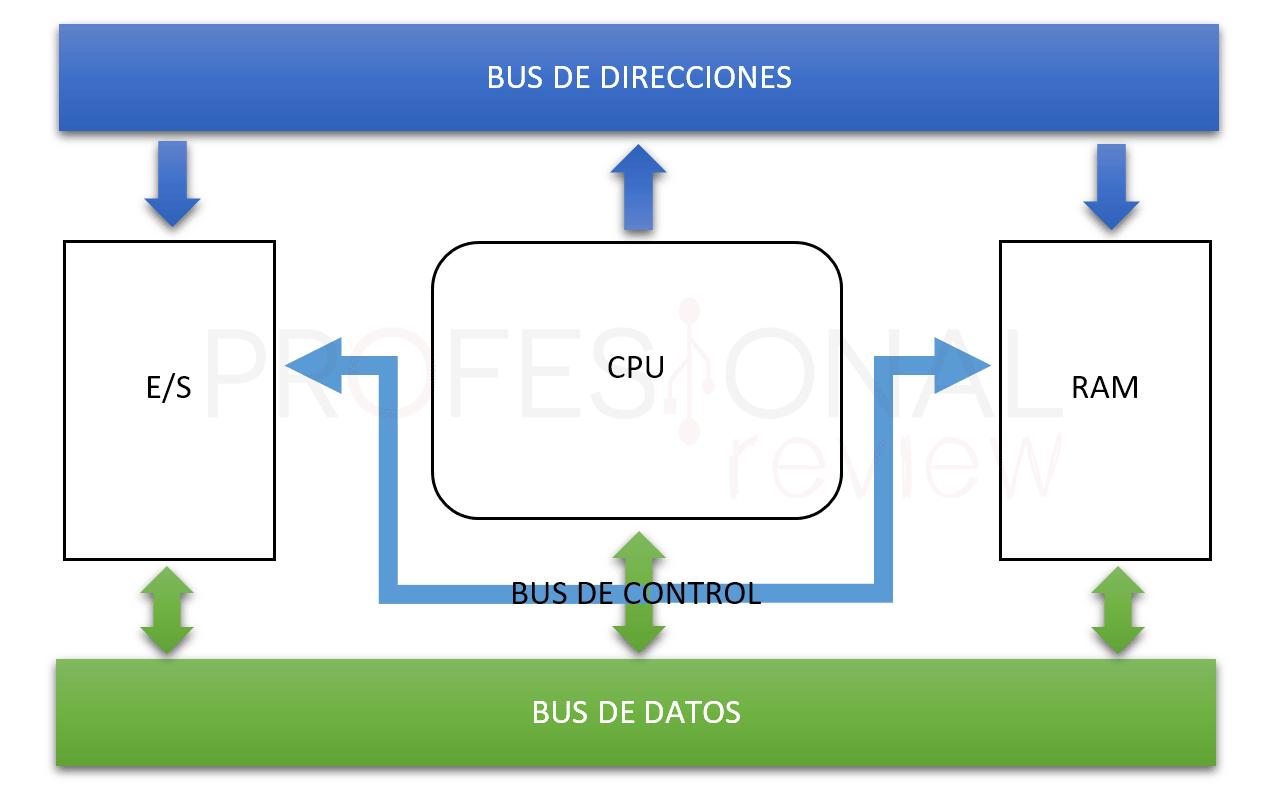 Partes de un procesador BUS