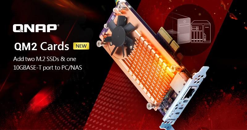 QNAP tarjetas tarjetas PCIe QM2