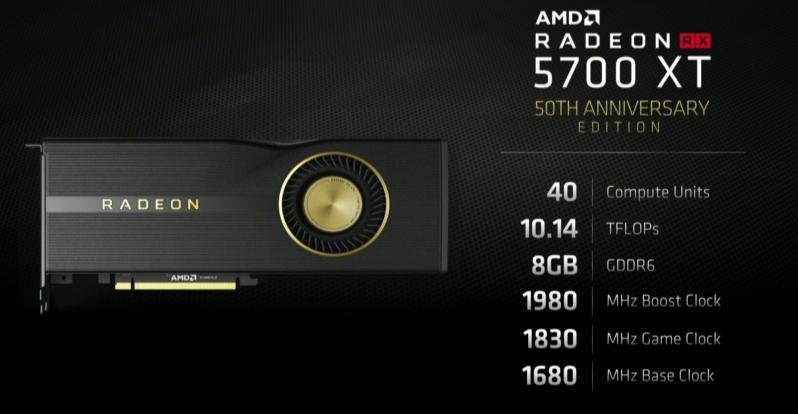 5700 XT 50th Anniversary Edition
