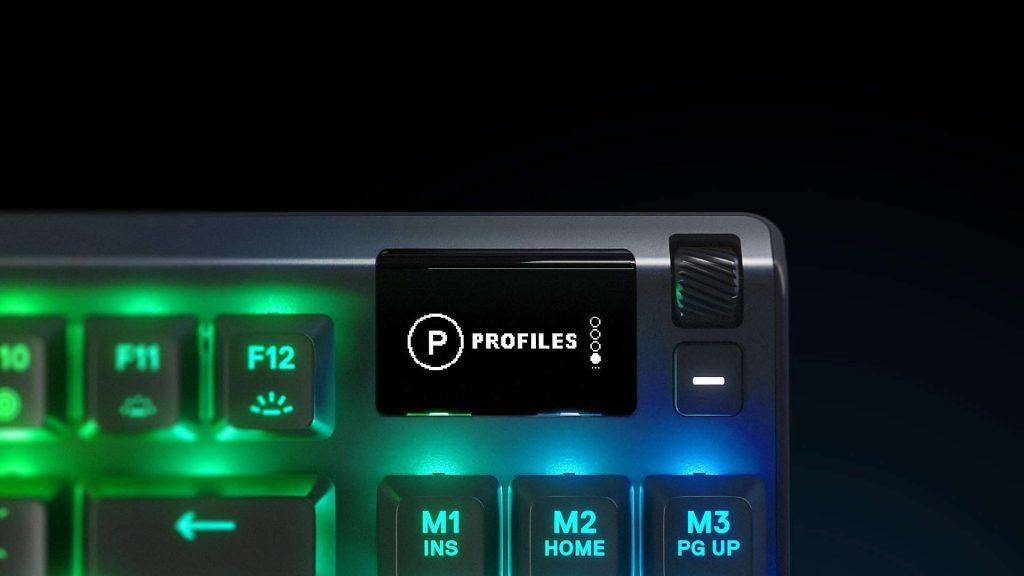 OLED SteelSeries Apex Pro