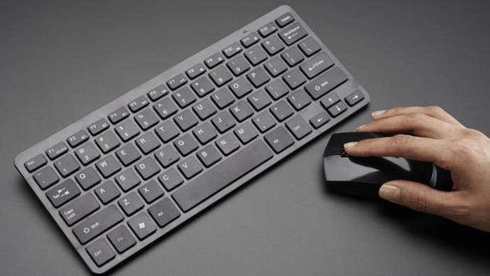 ratón y teclado inalámbrico