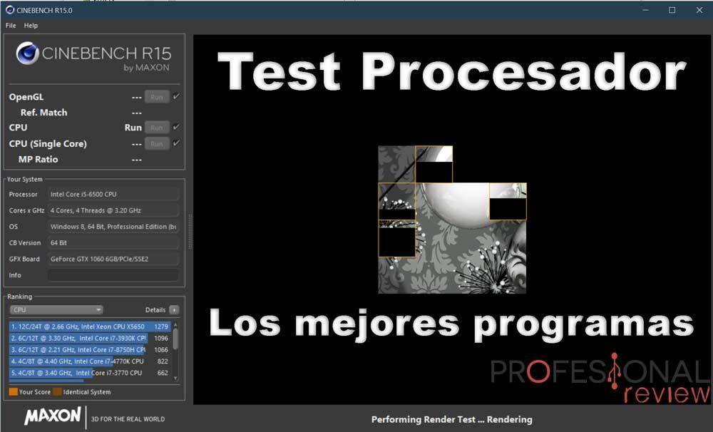 Test procesador
