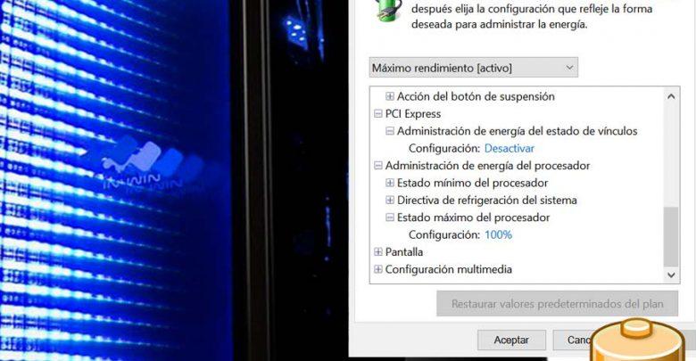 Photo of Activar plan máximo rendimiento en Windows 10