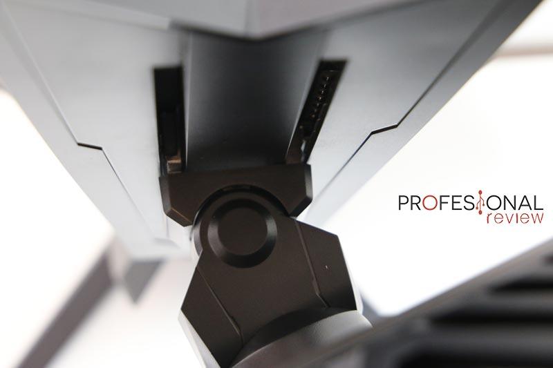 AORUS KD25F ergonomía
