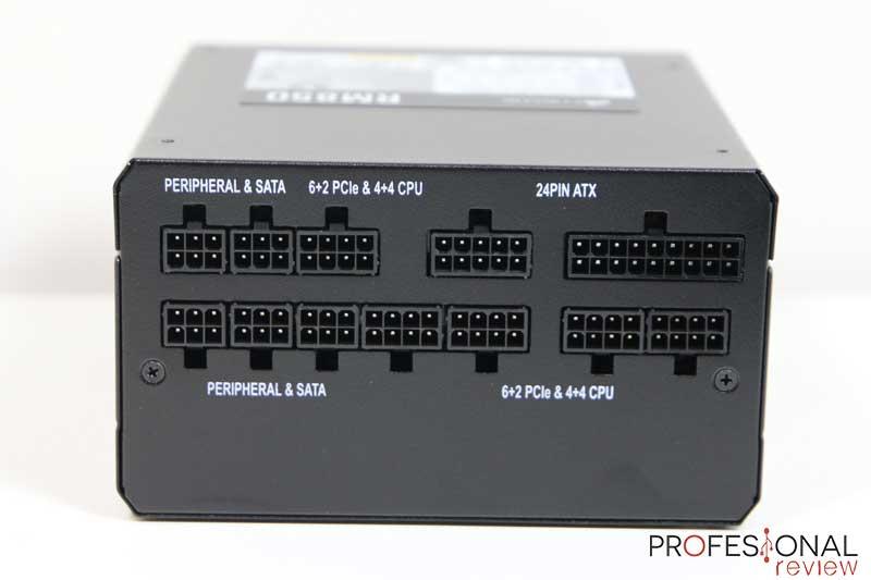 Corsair RM850 conexiones