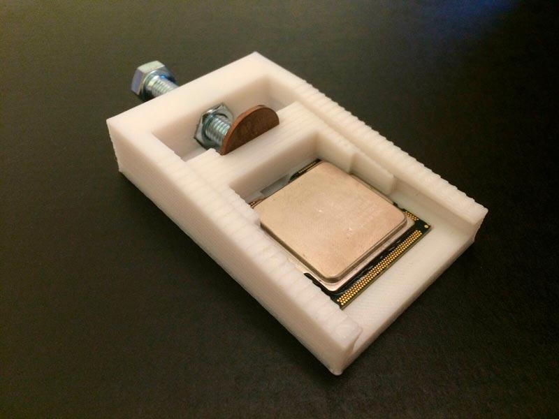 Herramienta impresa en 3D delid