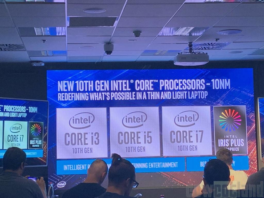 Nuevos procesadores Intel Ice Lake para portátiles