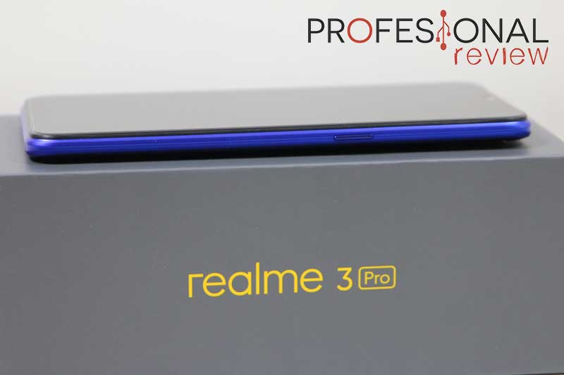 Realme 3 Pro diseño