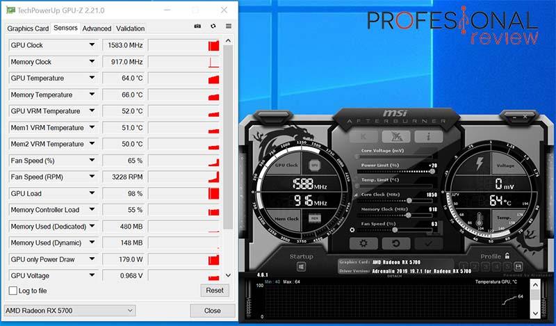 AMD Radeon RX 5700 overclocking