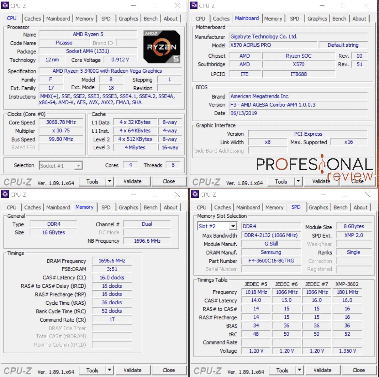 AMD Ryzen 5 3400G Review