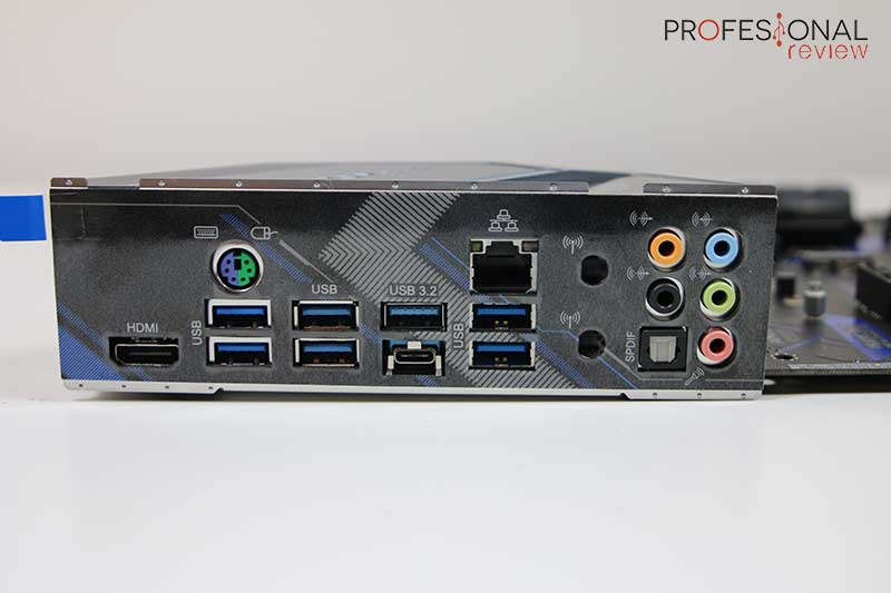 ASRock X570 Extreme4 Panel E/S