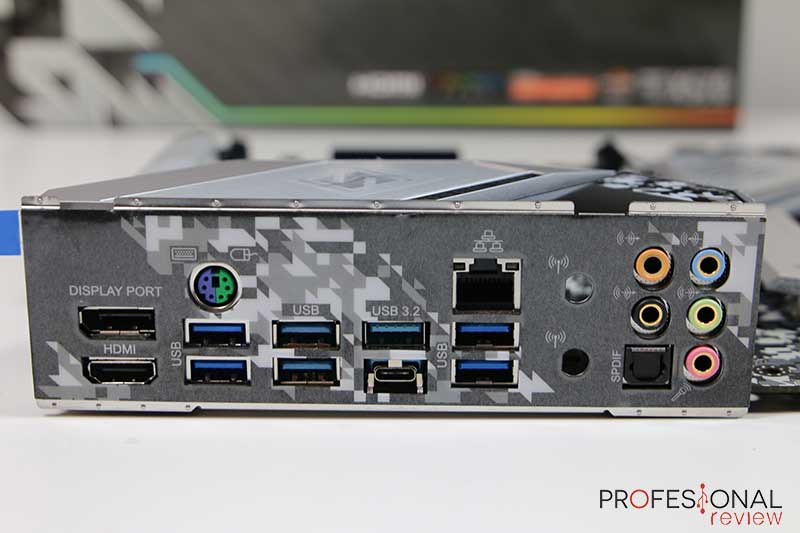ASRock X570 Steel Legend Panel E/S