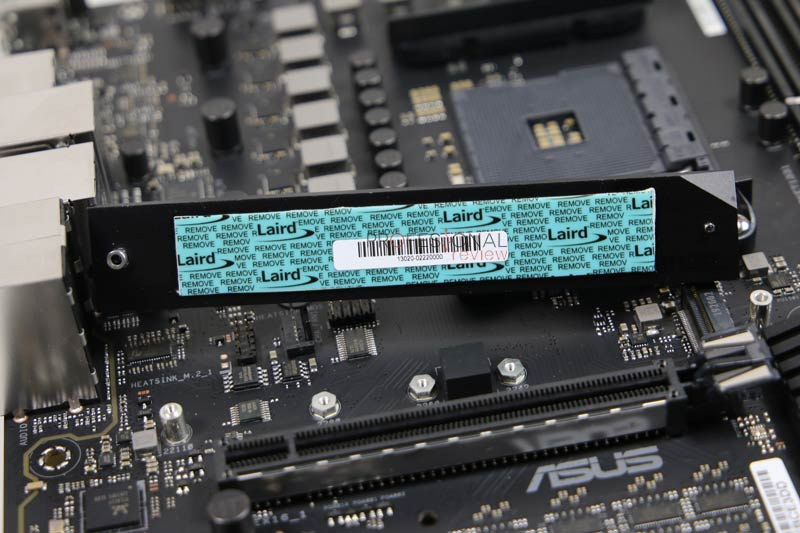 Asus WS X570-ACE nvme