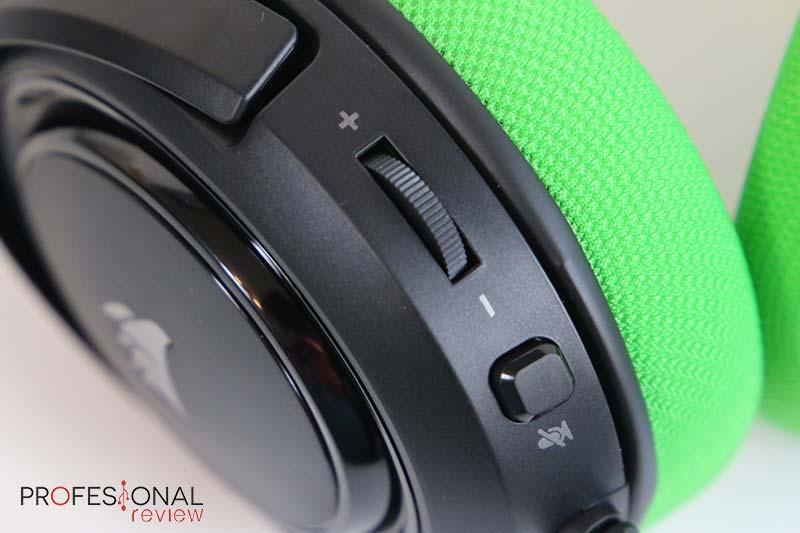Corsair HS35 Stereo controles