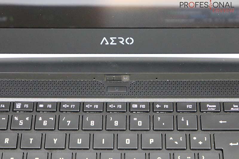 Gigabyte AERO 15 OLED Webcam