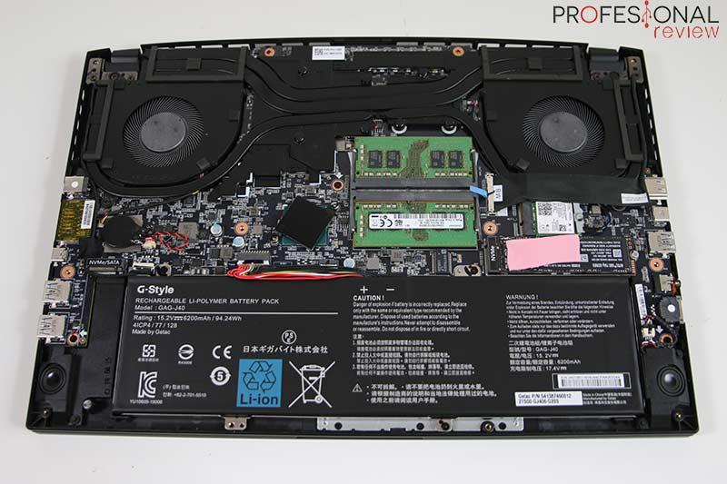 Gigabyte AERO 15 OLED hardware