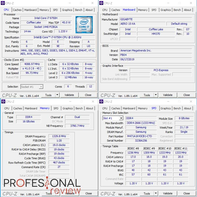 Gigabyte AERO 15 OLED Review