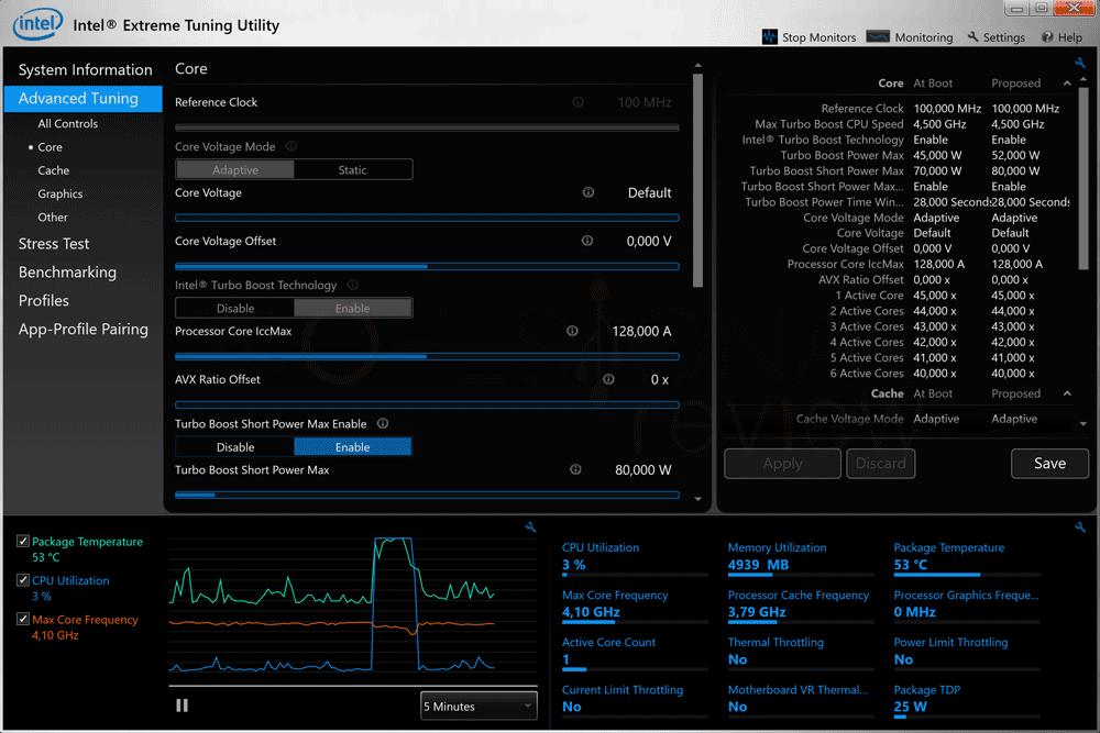 Bajar frecuencia Intel XTU paso 07