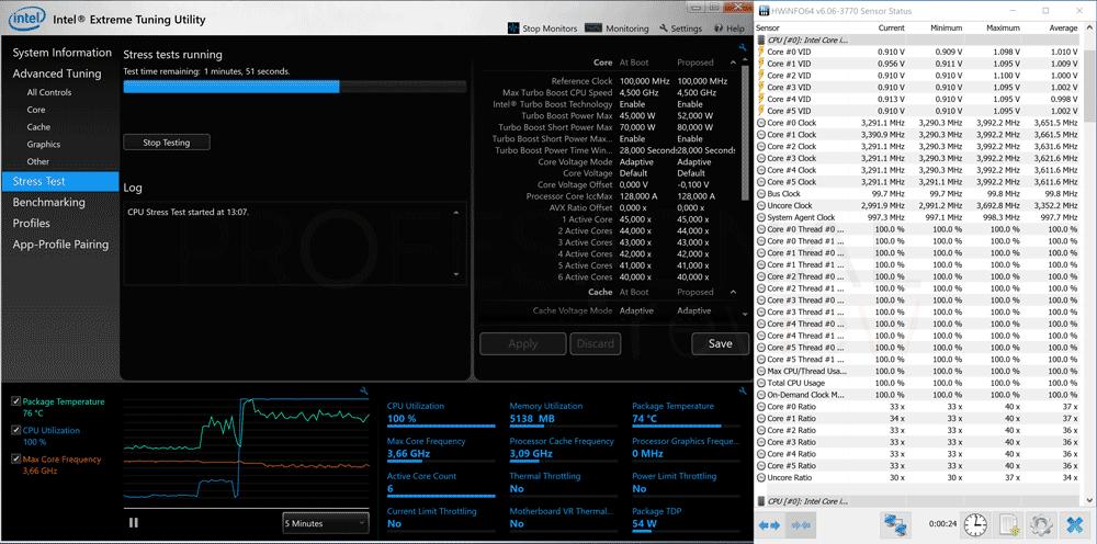 Bajar frecuencia Intel XTU paso 08